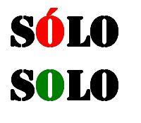 Sólo-Solo