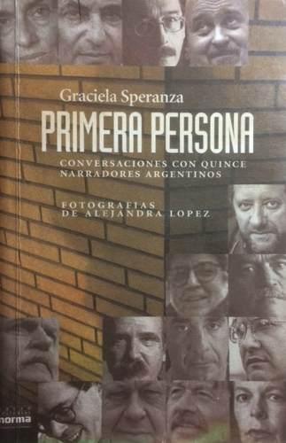PRIMERA PERSONA (1995), de Graciela Speranza